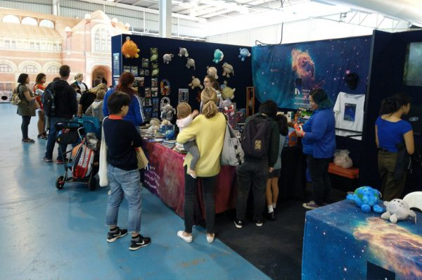 Our stall at the 2019 Perth Science Festival. Image Credit: Scitech