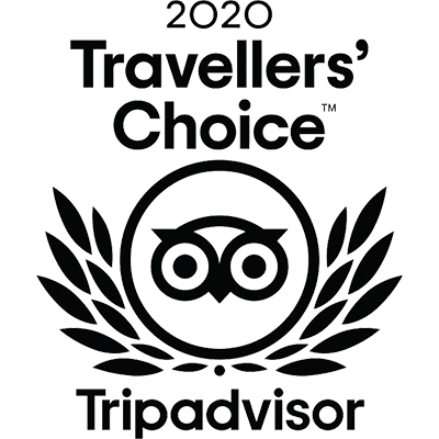 2020 TripAdvisor Travellers' Choice Winner