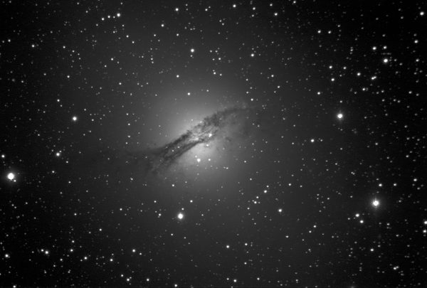 NGC5128 Centaurus A with a Supernova in it. Image Credit: Roger Groom