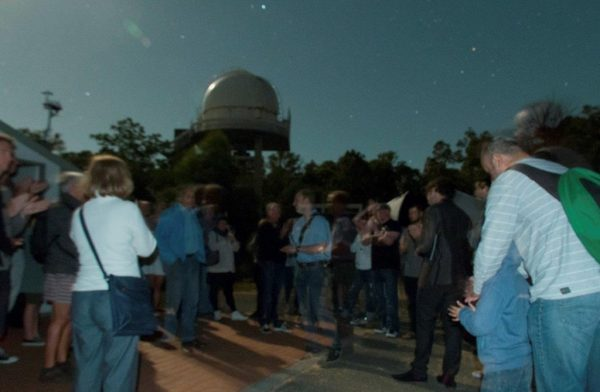 A Night Sky Tour at Perth Observatory. Image Credit: Roger Groom