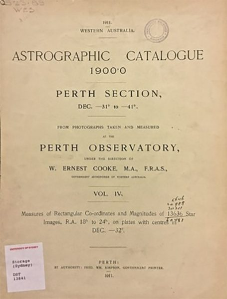 One of our Astrographic Catalogues. Image Credit: Toner Stevenson