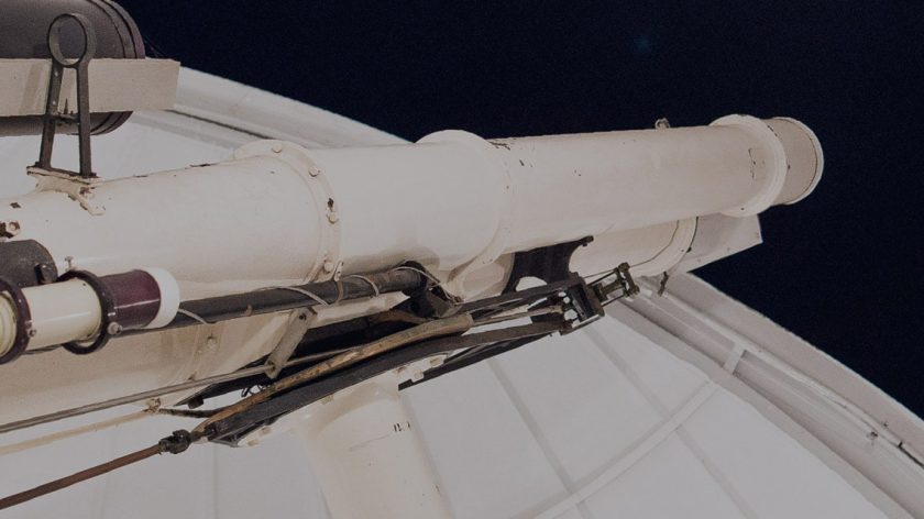 Astrographic Telescope post banner
