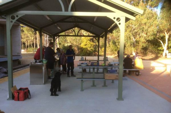 Barbecue area. Image Credit: Rob Kennedy