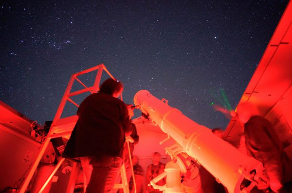 The Calver Telescope. Image Credit: Roger Groom