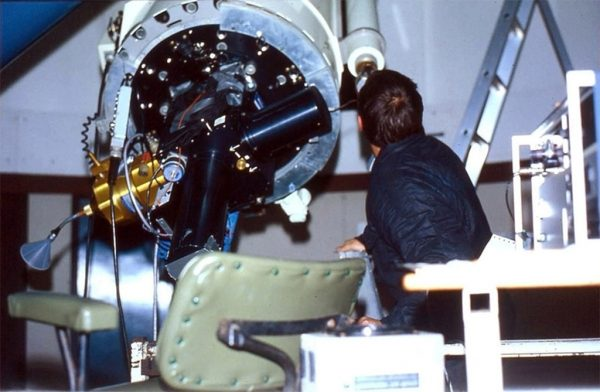 The University of Maryland's digital camera attached to the Perth-Lowell telescope. Image Credit: Perth Observatory