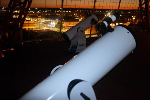 Our dobsonian telesopes. Image Credit: Matt Woods