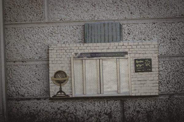 Fairy door for the Main Office Building. Image Credit: Dr Jan Baldwin