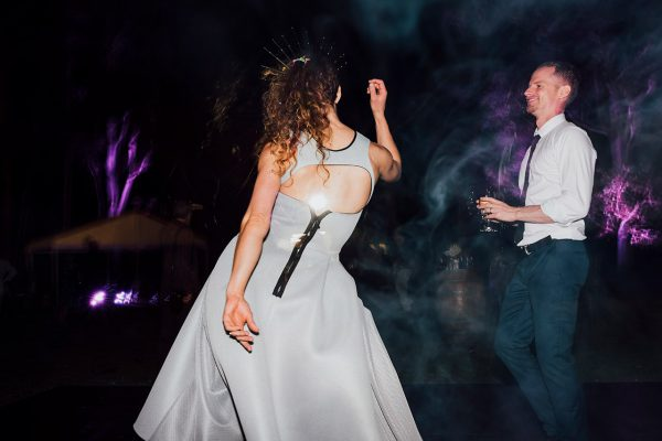 Francis and Matt dancing at the reception. Image Copyright: Michelle Lucking (Lucking Photography)