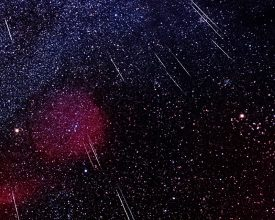 Geminids and Friends - Image Credit & Copyright: Daniel López (El Cielo de Canarias)