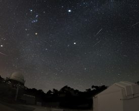 Geminids at Perth Observatory