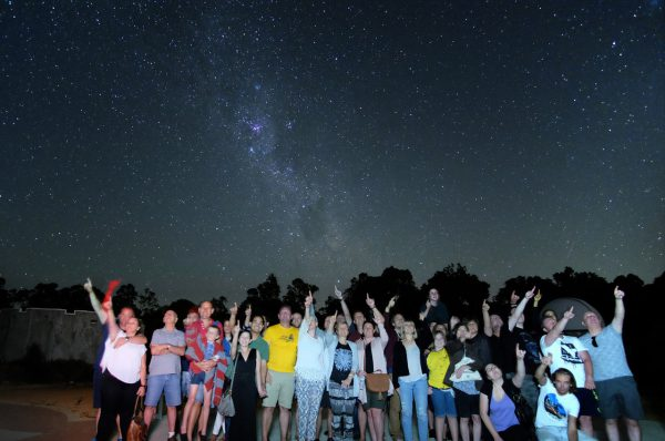 A group on an Exclusive Night Tour. Image Credit: Roger Groom