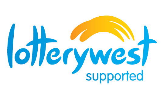 Homepage logo for Lotterywest
