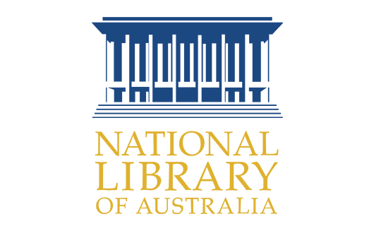 Homepage logo for National Library of Australia