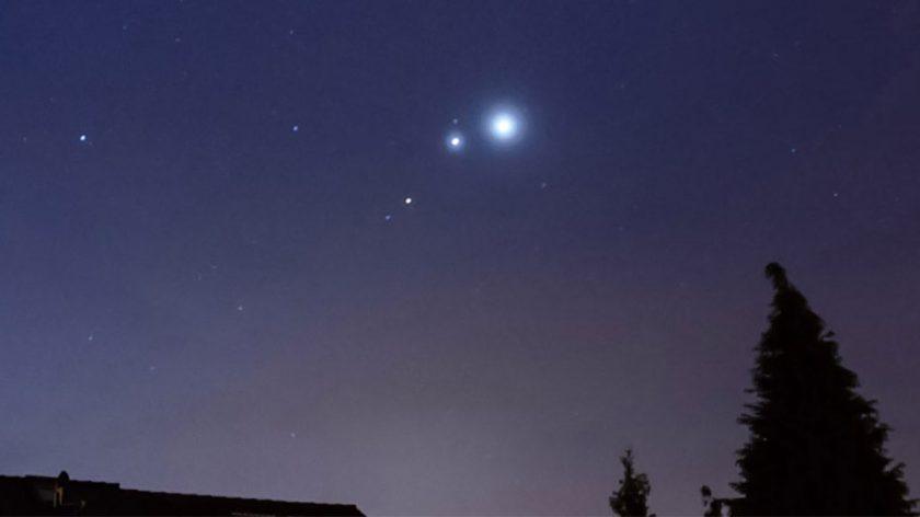 jupiter venus mars conjunction