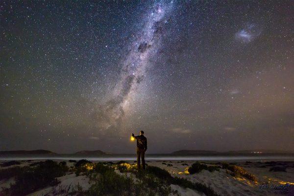 Ken and the Milky Way. Image Credit: Ken Lawson