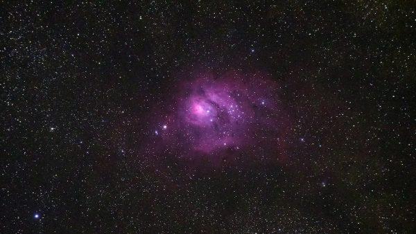 The Lagoon Nebula (M8). Image Credit: Roger Groom