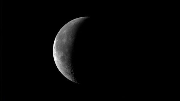 Waning crescent Moon. Image Credit: Roger Groom