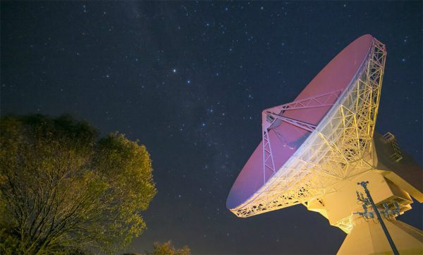 New Norcia station 35-metre dish. Image Credit: particle.scitech.org.au