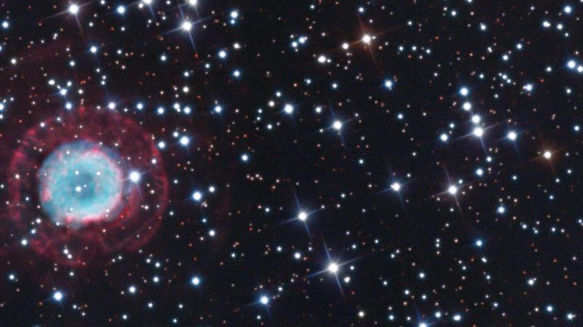 NGC 2438 banner