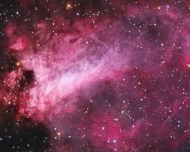 Omega nebula banner