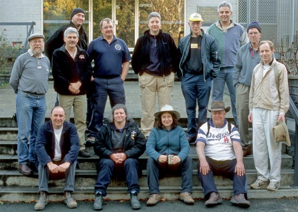 Perth Observatory Volunteer Group's first intake. Image Credit: Perth Observatory