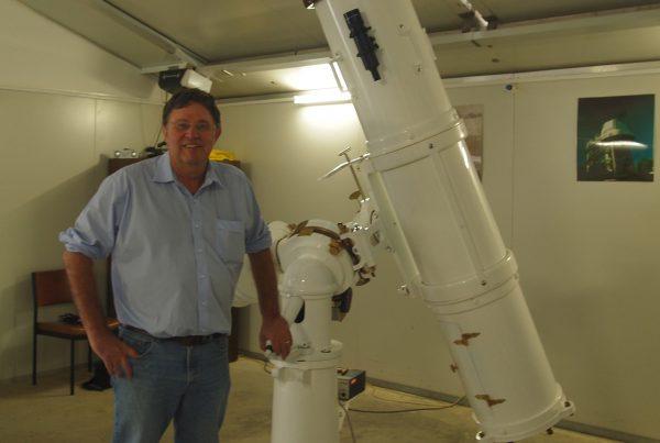 Ralph Martin. Image Credit: Perth Observatory