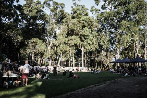 Rotaract jazz sundowner's crowd. Image credit: Matt Woods
