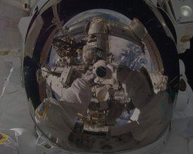 Space selfies banner