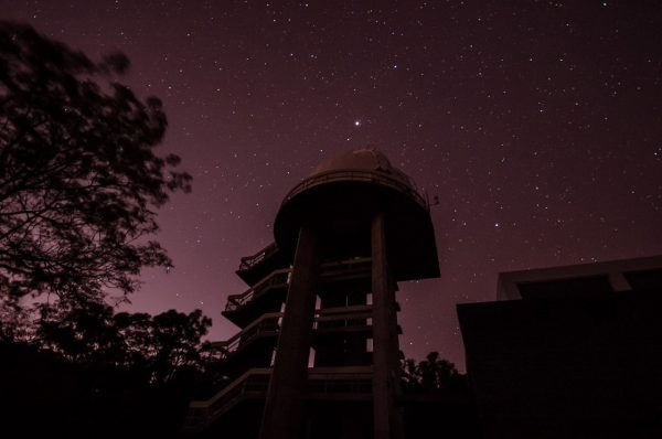 The lowell telescope dome. Image Credit: Steve Parkins
