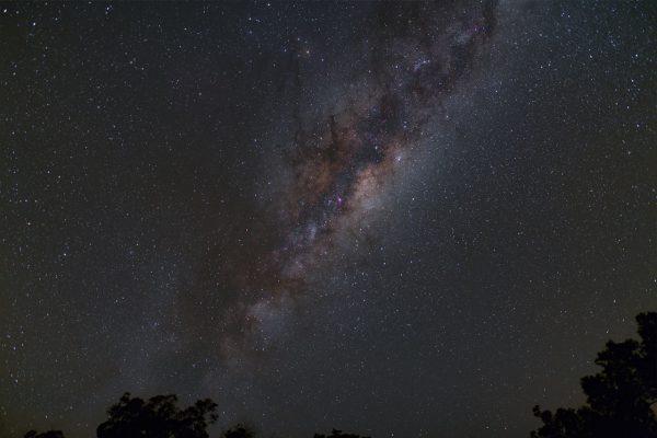 The Milky Way at night. Image Credit: Matt Woods