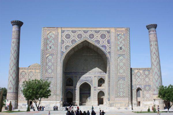 The Madrasa of Ulugh Beg in Samarkand. Image Credit: Samarkand Observatory/Museum