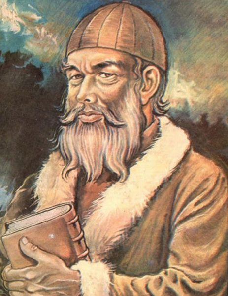 Ulugh Beigh Portrait. Image Credit: Wikipedia