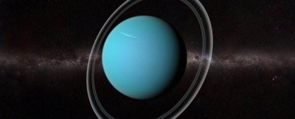 Uranus and its rings. Image Credit: SCIEPRO/Science Photo Library/Getty Images