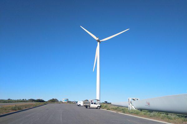 Walkaway Wind Farm car park where we'll start the workshop. Image Credit: Matt Woods