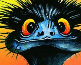 Wendy Binks emu banner