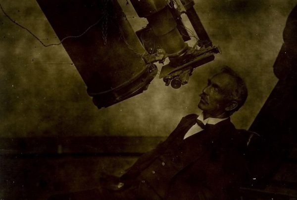 William Ernest Cooke. Image Credit: Perth Observatory